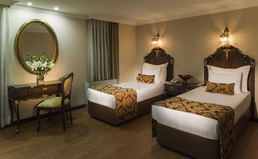 HOTEL İÇKALE :: Connection Rooms
