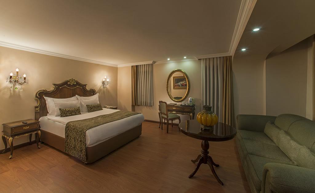 HOTEL İÇKALE :: Junior Suite Rooms