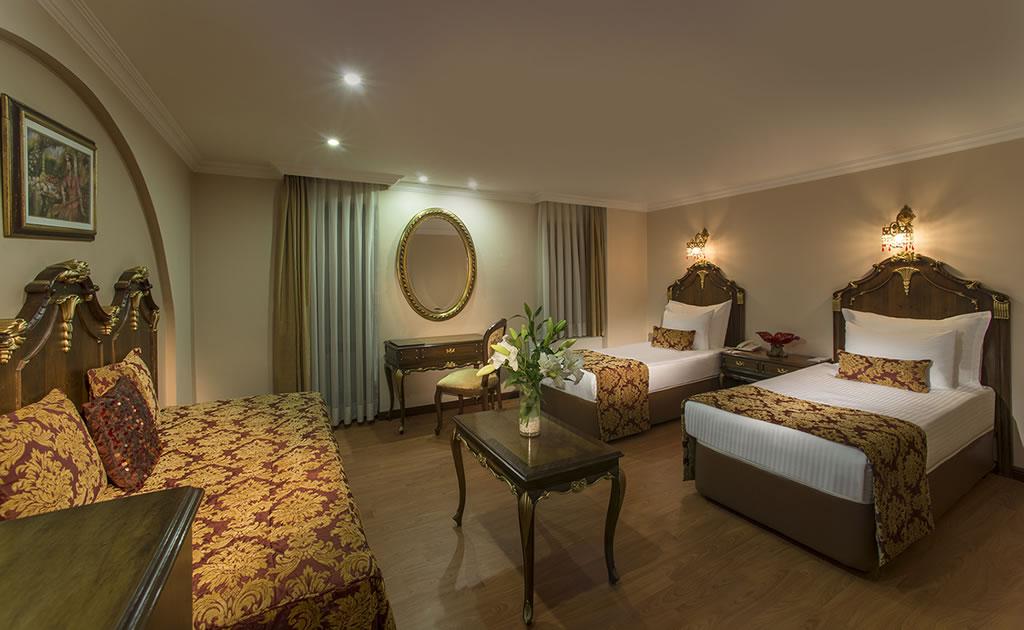 HOTEL İÇKALE :: Osmanlı Odası