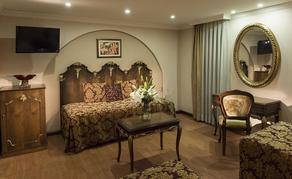 HOTEL İÇKALE :: Ottoman Rooms